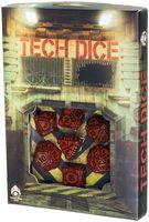 """Набор кубиков """"Tech"""" (7 шт.; черно-красный)"""