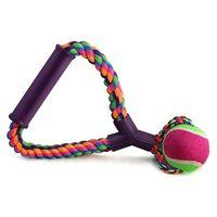 """Игрушка для собак """"Веревка с ручкой"""" (25 см)"""
