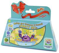 """Подарочный набор детский """"Party set"""" (мыльные фигурки, цветная таблетка, кристаллы с треском)"""