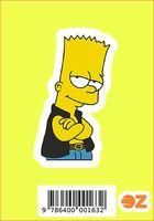 """Глянцевая наклейка """"Симпсоны. Барт"""" (арт. 163)"""