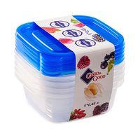 Контейнер для хранения продуктов (5 шт.; 0,45 л)