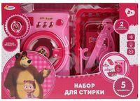 """Игровой набор """"Маша и Медведь. Набор для стирки"""" (со световыми и звуковыми эффектами)"""