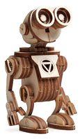 """Сборная деревянная модель """"Робот Санни"""""""