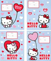 "Тетрадь в линейку ""Hello Kitty"" 12 листов"