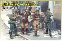 "Набор миниатюр ""Blitzkrieg in France! France 1940"" (масштаб: 1/35)"
