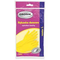 Перчатки резиновые (размер: L; 1 пара)