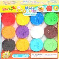 "Пластилин ""Kid's Dough"" (12 цветов)"