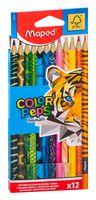 """Набор карандашей цветных """"Color Peps Animals"""" (12 цветов)"""