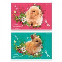 """Альбом для рисования """"Кролики"""" (А4; 12 листов)"""