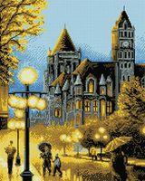"""Алмазная вышивка-мозаика """"Огни ночного города"""" (400х500 мм)"""