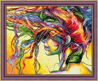 """Алмазная вышивка-мозаика """"Краски ветра"""" (500х400 мм)"""
