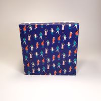"Подарочная коробка ""Танцы"" (16х16x7,5 см)"