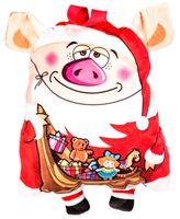 """Подарочная упаковка """"Свинка-Дед Мороз"""""""