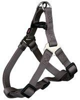 "Шлея для собак ""Premium Harness"" (размер L, 65-80 см, темно-серая, арт. 20466)"