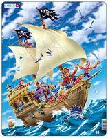 "Пазл-рамка ""Пираты"" (30 элементов)"