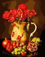 "Картина по номерам ""Натюрморт с фруктами"" (400х500 мм)"
