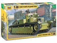"""Сборная модель """"Советский средний танк Т-28"""" (масштаб: 1/35)"""