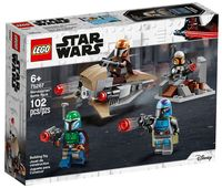 """LEGO Star Wars """"Боевой набор: мандалорцы"""""""