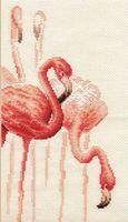 "Вышивка крестом ""Фламинго №1"""