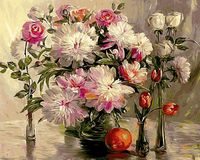 "Картина по номерам ""Шикарные цветы"" (400х500 мм; арт. PC4050135)"