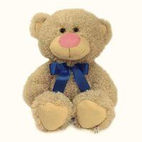 """Мягкая игрушка """"Медвежонок Ник"""" (34 см; бежевый)"""