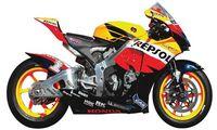 """Мотоцикл """"Honda RC212V T.REPSOL 2007"""" (масштаб: 1/9)"""