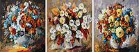 """Картина по номерам """"Цветочное трио"""" (500х1500 мм; арт. PC35050003)"""