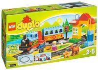 """LEGO Duplo """"Мой первый поезд"""""""