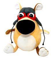 """Мягкая игрушка """"Собака-пилот"""" (24 см)"""