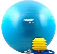 Мяч гимнастический GB-102 65 см (с насосом; синий)