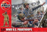 "Набор миниатюр ""WW.II Парашютисты США"" (масштаб: 1/32)"