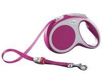 """Поводок-рулетка для собак """"Vario"""" (размер S; до 15 кг; розовый)"""