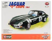 """Модель машины """"Bburago. Jaguar E Coupe"""" (масштаб: 1/18)"""