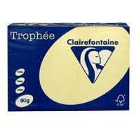 """Бумага """"Trophee. Pastel"""" (А4; 500 листов; 80 г/м2; светло-желтая)"""