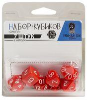 """Набор кубиков """"Симпл"""" (7 шт.; красный)"""