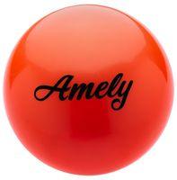Мяч для художественной гимнастики AGB-101 (19 см; оранжевый)