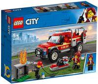"""LEGO City """"Грузовик начальника пожарной охраны"""""""