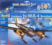 """Бомбардировщик """"Junkers Ju88 A-4 Bomber"""" (масштаб: 1/72)"""