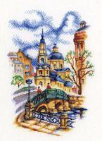 """Вышивка крестом """"Мосты Петербурга"""" (150x230 мм; арт. М541)"""