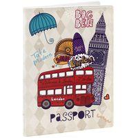 """Обложка для паспорта """"Лондон"""" (арт. 32391)"""