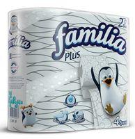 """Туалетная бумага """"Familia Plus"""" (4 рулона)"""