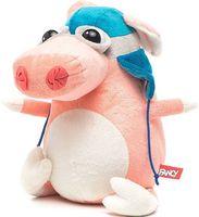 """Мягкая игрушка """"Свинка-пилот"""" (24 см)"""