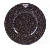 Тарелка керамическая (270 мм; гранит)