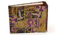 "Гостевая книга Paperblanks ""Гранат расшитый блестками"" в линейку (230х180 мм)"