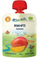 """Детское пюре Fleur Alpine Organic """"Манго"""" (90 г)"""