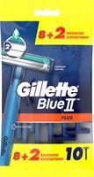 """Станок для бритья одноразовый """"Blue II Plus"""" (10 шт.)"""