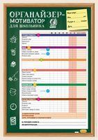 Органайзер-мотиватор для школьника (4 плаката)