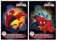 """Бумага цветная """"Spider-man Classic"""" (12 листов; 12 цветов)"""