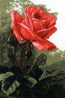 "Вышивка крестом ""Роза розовая"" (300x200 мм)"