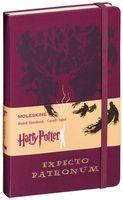 """Записная книжка Молескин """"Harry Potter. Expecto Patronum"""" (большая; твердая бордовая обложка)"""